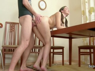 Watch - Brother Seduce Skinny StepSister First Fuck