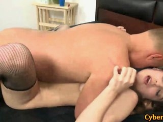 Watch - Filthy Slut Fucked By Lucky Old Dick