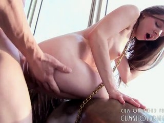 Watch - Submissive Teen Pleasing Her Master Part2