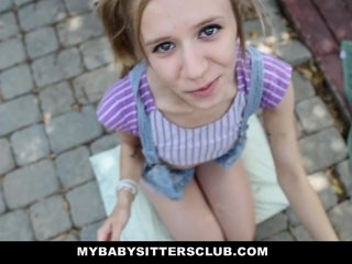 Watch - Petite Baby Sitter Caught Masturbating