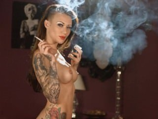 Watch - Elegant Becky Smoking Nude