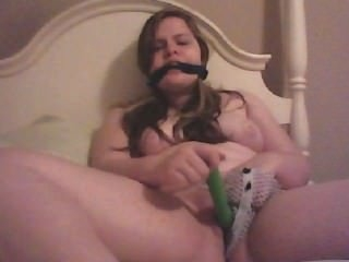 Watch - Teen Gagged and Masturbating 2