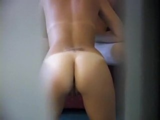 Watch - Spying on roommate fucking his sexy girlfriend