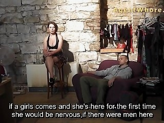 Watch - Sexy guy does interview about porn in backstage clip