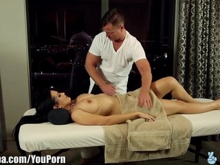 Watch - TrickySpa Katrina Jade Seduced by Dirty Masseur