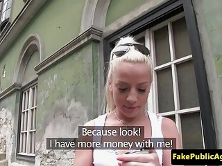 Watch - Real euro babe doggystyled for cash