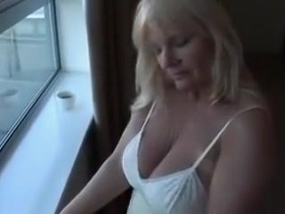Watch - Mature blonde wife is ready to be my hot sex model today