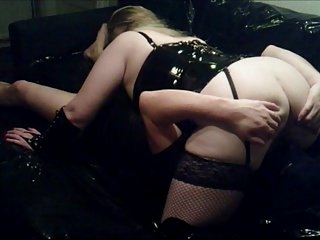 Watch - MILF in PVC mutual oral