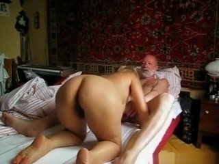 Watch - Russian blonde milf homemade sextape