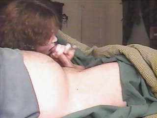 Watch - Horny wife gives incredible blowjob