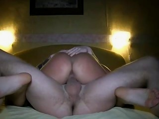 Watch - Wife rides cock to multiple orgasms loud moaning